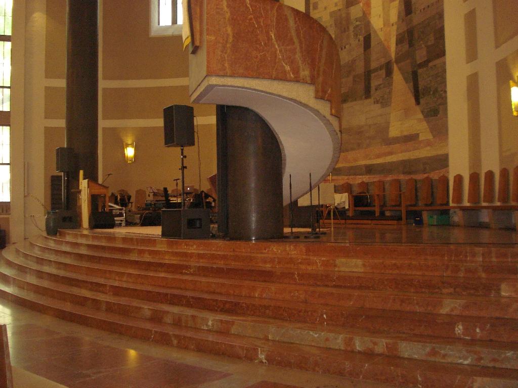 Ruhe in der Kirche