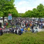 Parkplatz Olympia Parkharfe
